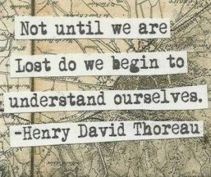 lost to understand, know thyself