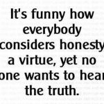 truth, honesty virtue