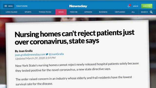 cuomo forced nursing homes covid
