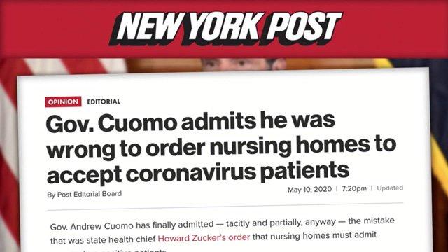 cuomo wrong force nursing homes covid